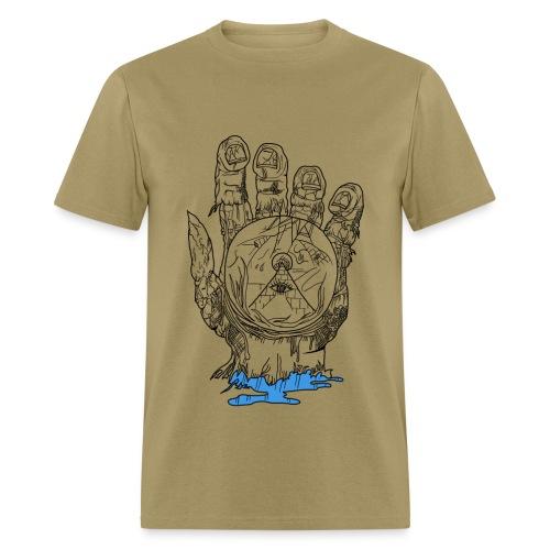 Mystery Hand (Men Normal Fit) - Men's T-Shirt