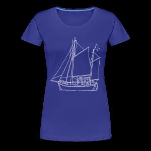 sailing boat - Women's Premium T-Shirt