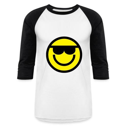 Smiley Face Images - Men's Baseball T-Shirt - Baseball T-Shirt