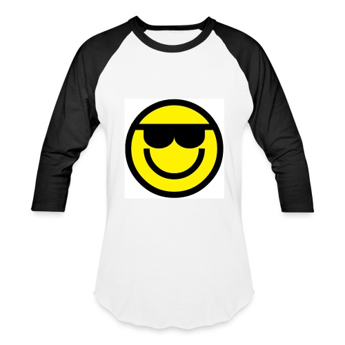 Smiley Face Images - Men's Baseball T-Shirt - Baseball T-Shirt