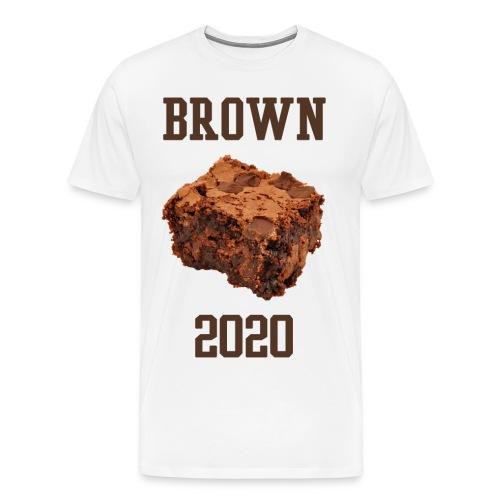 MEN's Brown Brownies Shirt - Men's Premium T-Shirt
