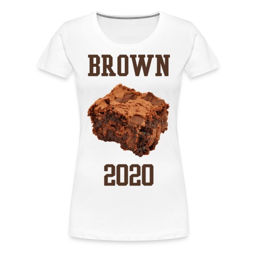 WOMEN's Brown Brownies Shirt - Women's Premium T-Shirt