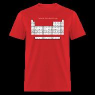T-Shirts ~ Men's T-Shirt ~ Periodic Table of Detroit Hockey