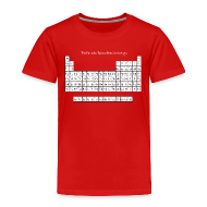 Baby & Toddler Shirts ~ Toddler Premium T-Shirt ~ Periodic Table of Detroit Hockey
