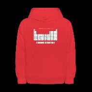Sweatshirts ~ Kids' Hoodie ~ Periodic Table of Detroit Hockey