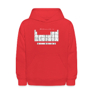 Sweatshirts ~ Kids' Hoodie ~ Periodic Table of Detroit Hockey