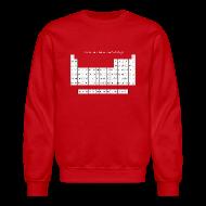 Long Sleeve Shirts ~ Crewneck Sweatshirt ~ Periodic Table of Detroit Hockey
