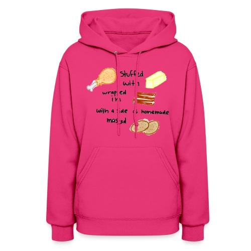 chicken bacon hoodie - Women's Hoodie