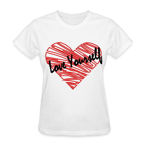 Women's Love Yourself Tee - Women's T-Shirt