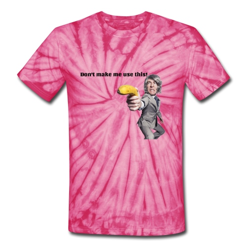 Don't make me use this - Unisex Tie Dye T-Shirt