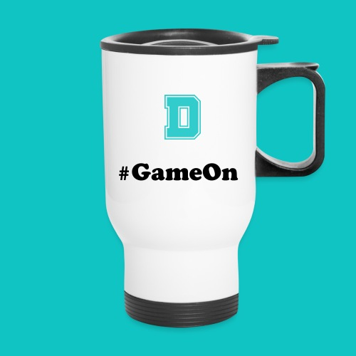 #GameOn Travel Mug - Travel Mug