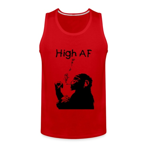 High AF Men's Tank - Men's Premium Tank