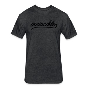 Invincible - Fitted Cotton/Poly T-Shirt by Next Level