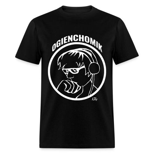 OgienChomik Men's Gildan T-Shirt - White Design - Men's T-Shirt