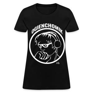 OgienChomik Women's Gildan T-Shirt - White Design - Women's T-Shirt