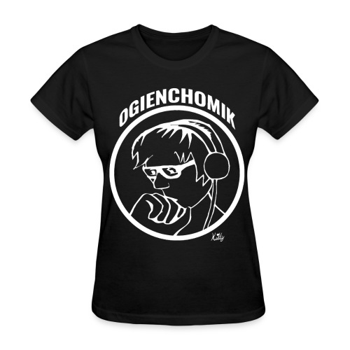 OgienChomik Women's Gildan T-Shirt - White Design - Women's T-Shirt