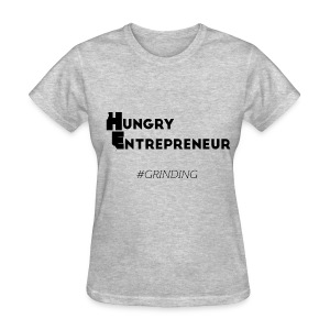 H.E. Women's Grey Tee - Women's T-Shirt