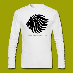 Lion of Judah - Men's Long Sleeve T-Shirt by Next Level