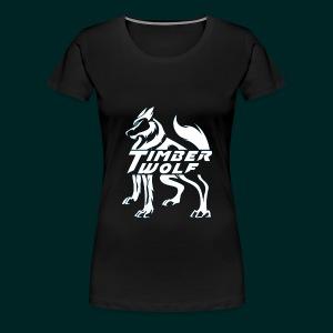 TimberWolf Logo Women's T-Shirt - Women's Premium T-Shirt