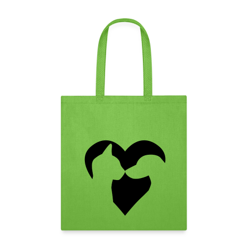 Cat + Dog Love Tote Bag - Tote Bag