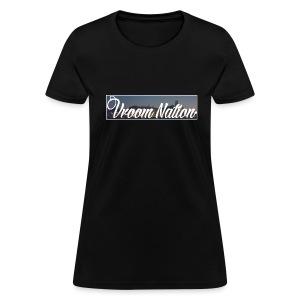 Vroom Nation Cityscape Women's tee - Women's T-Shirt