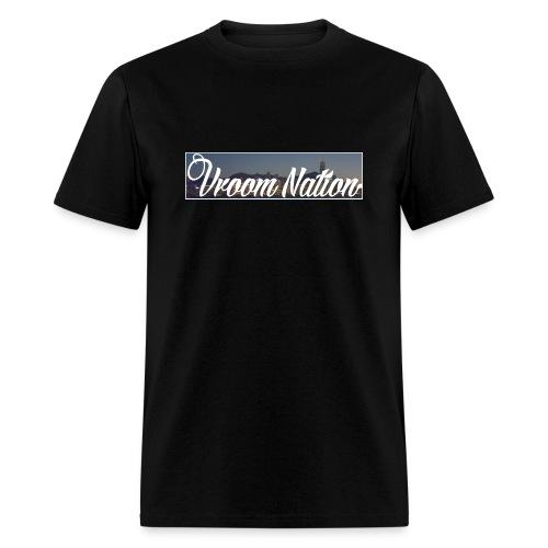 Vroom Nation Cityscape Men's tee - Men's T-Shirt