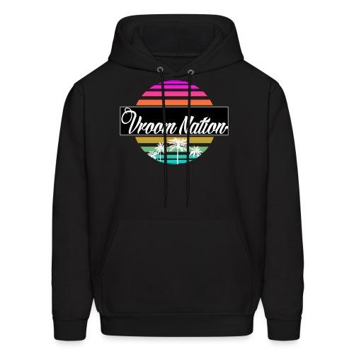 Vroom Nation Retro Hoodie - Men's Hoodie
