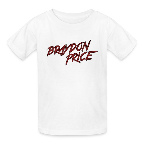Kids' T-Shirt - Braydon Price Front - Kids' T-Shirt