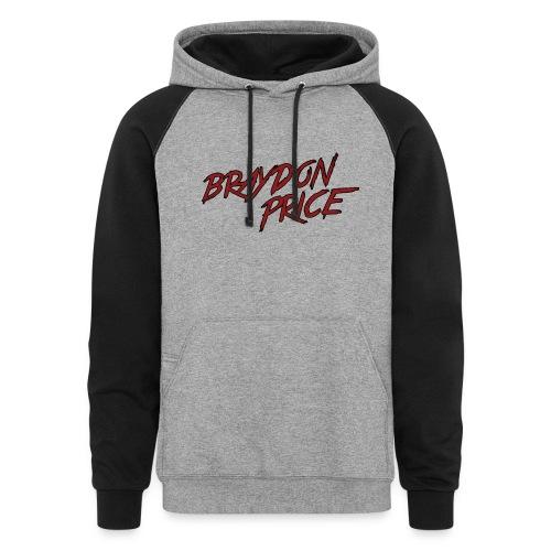 Colorblock Hoodie - Braydon Price Front - Braydon Price Wheelie Back - Colorblock Hoodie