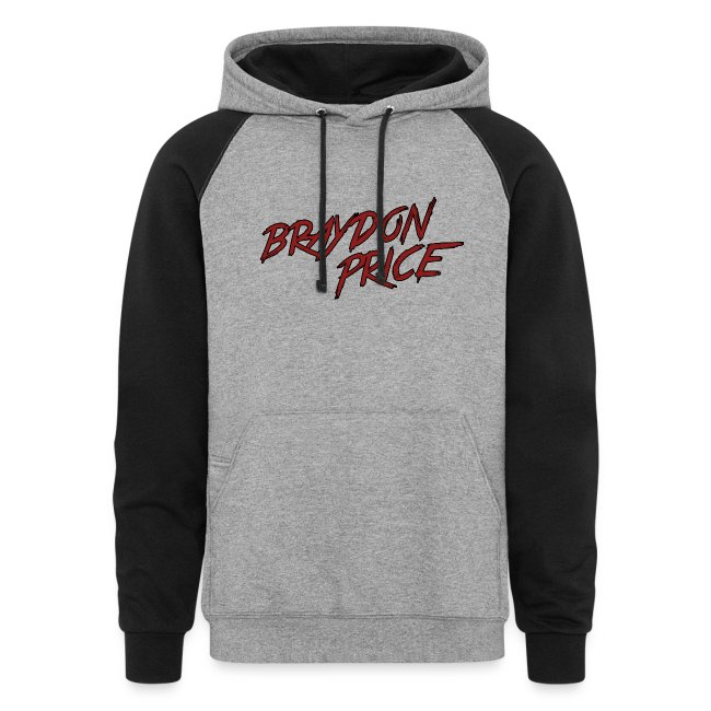 Colorblock Hoodie - Braydon Price Front - Braydon Price Wheelie Back 014244d86