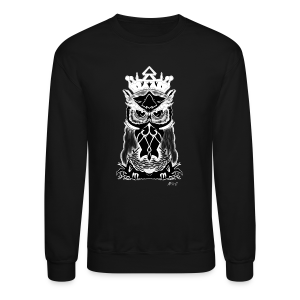 King Owl - Crewneck Sweatshirt