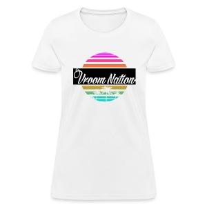 Vroom Nation Retro Women's Tee - Women's T-Shirt