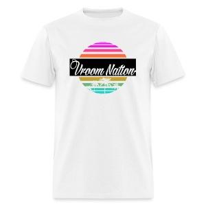Vroom Nation Retro Men's Tee - Men's T-Shirt