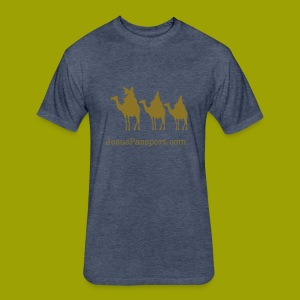 Three Wise Men - Fitted Cotton/Poly T-Shirt by Next Level