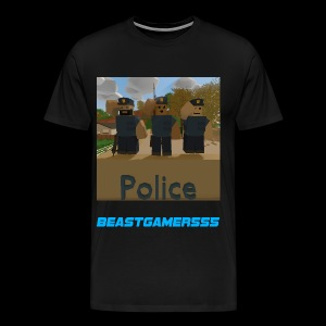 Unturned Police  - Men's Premium T-Shirt