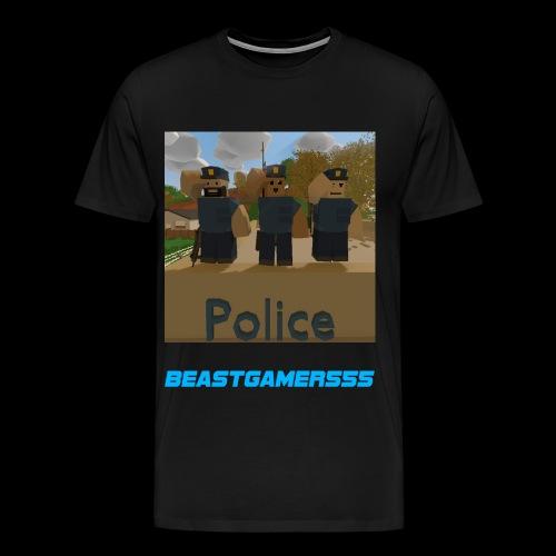 Unturned Police  - Men's Premium T-Shirt