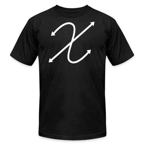 (White) Logo Tee - Men's Fine Jersey T-Shirt