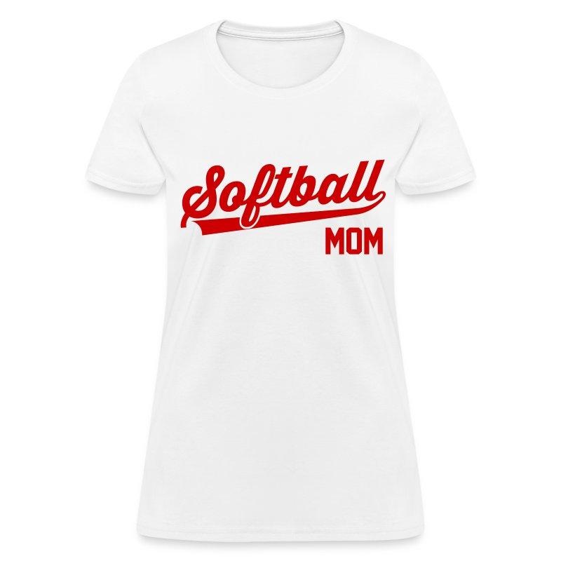 Softball Mom T Shirt Spreadshirt
