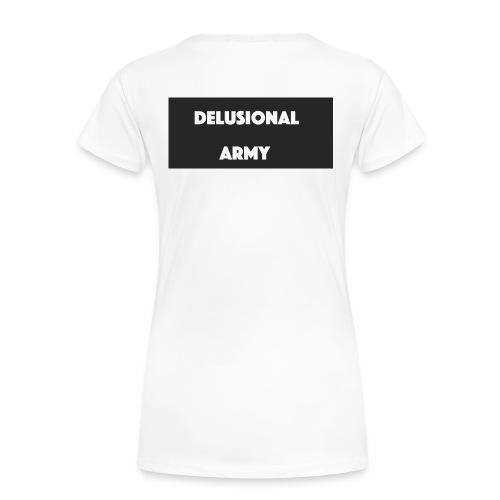 DelusionalSpirit/Army T-Shirt (women's) - Women's Premium T-Shirt