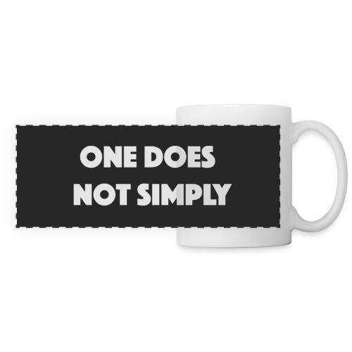 One does not simply Mug - Panoramic Mug