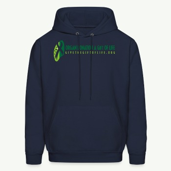 Organ donation Men's T-Shirt - Men's Hoodie