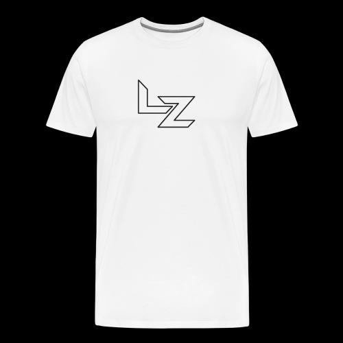 Lz Letters Shirt - Men's Premium T-Shirt