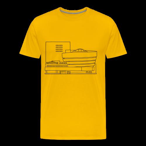 Guggenheim Museum New York - Men's Premium T-Shirt