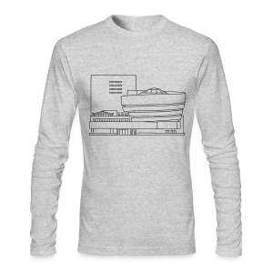 Guggenheim Museum New York - Men's Long Sleeve T-Shirt by Next Level