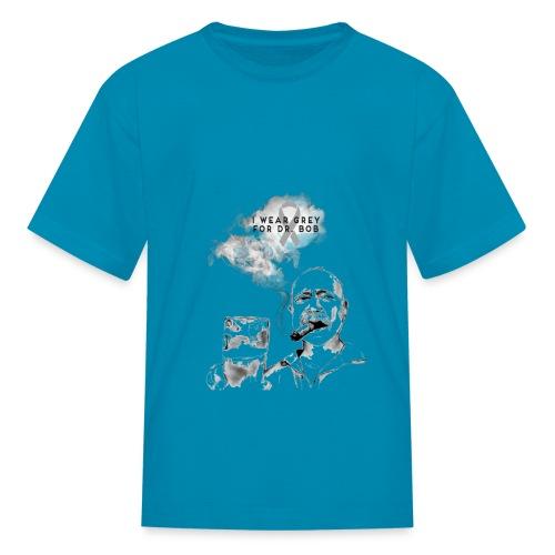 Blue Kid Cigar - Kids' T-Shirt
