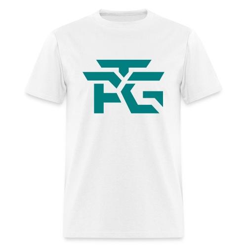 White ATG Logo Tee - Men's T-Shirt