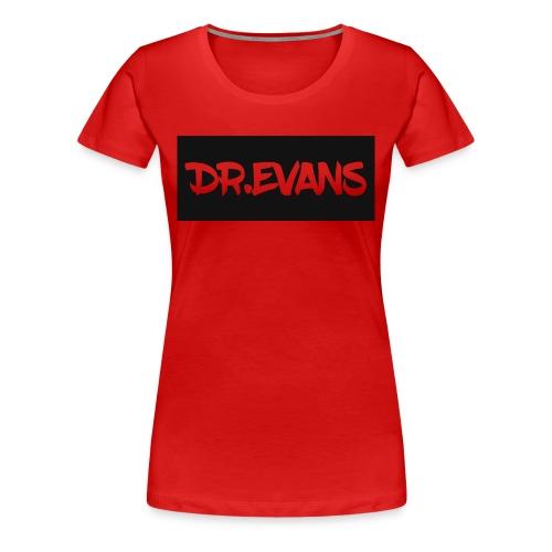DR.E Black Womens - Women's Premium T-Shirt