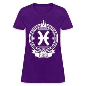Women's PISCES Sign T-Shirt - Women's T-Shirt
