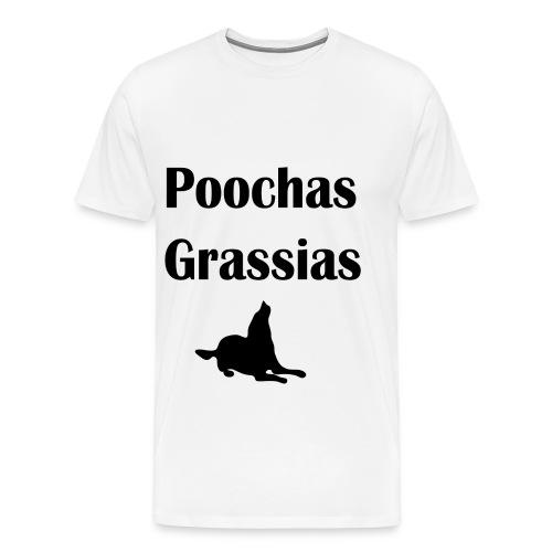 Poochas Grassias - Men's Premium T-Shirt
