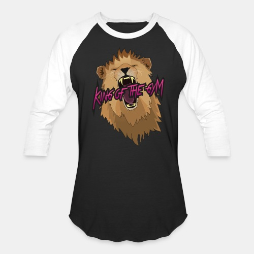 Men's Black Logo Baseball T-Shirt - Baseball T-Shirt